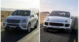 The New Porsche Cayenne puts pressure on the Mercedes ML