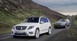 GLK against new Discovery Sport