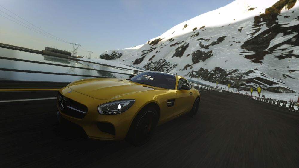Mercedes-AMG GT launches exclusively on PlayStation 4