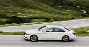 Mercedes S 500 Plug-In Hybrid: intelligent and with style