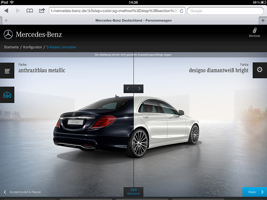 Red Dot Award for Mercedes-Benz
