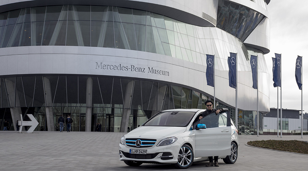 Mercedes-Benz has a new Brand Ambassador