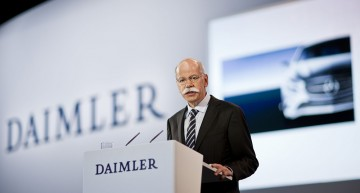 Eurostar Award for Dieter Zetsche