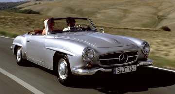Mercedes 190 SL: the Peaceful Roadster (1955 – 1963)