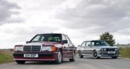 Mercedes 190 E 2.5-16V vs BMW M3 E30