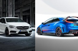 The New Honda Civic Type-R Wants to Impress the A 45 AMG