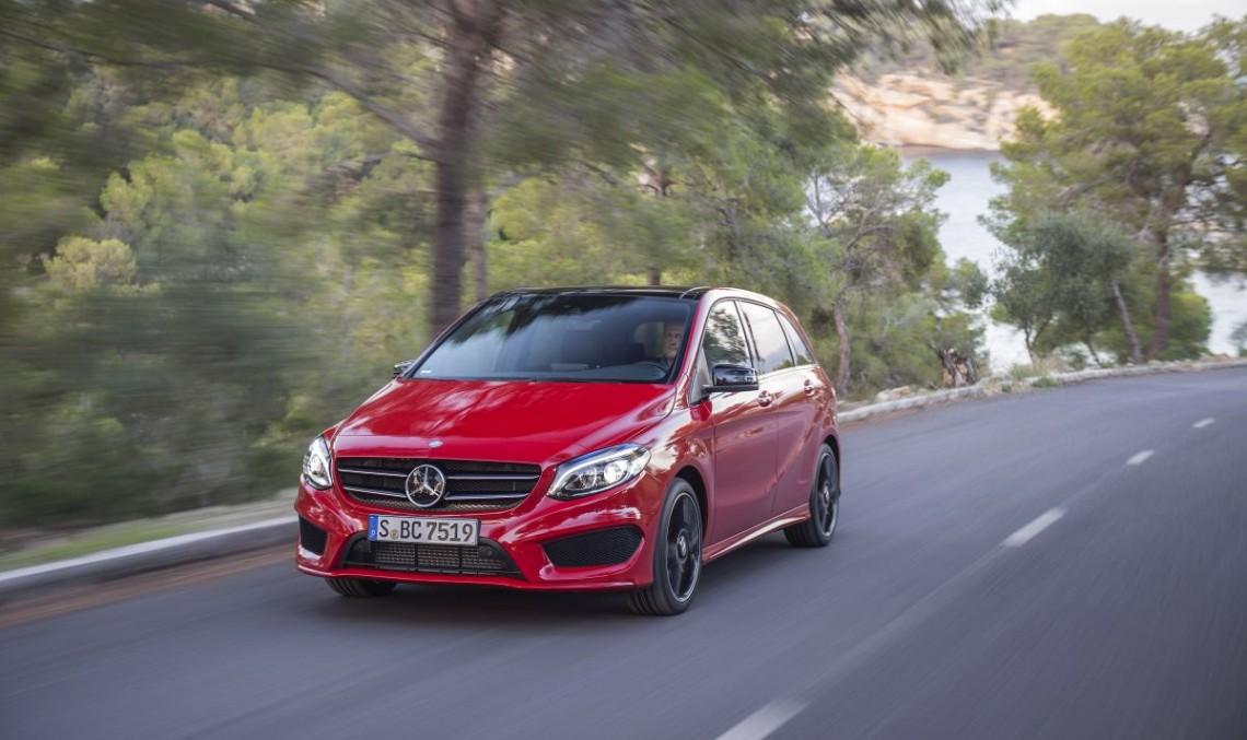 First Review Mercedes B-Class Facelift