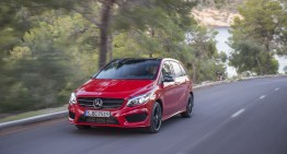 First Review Mercedes B-Class Facelift