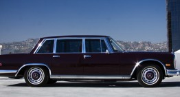 Jack Nicholson's Mercedes-Benz 600