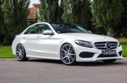 Enhanced styling for the new Mercedes-Benz C-Class, by Carlsson