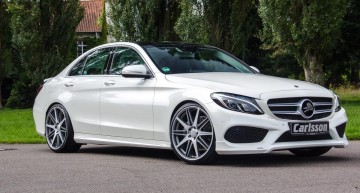 Enhanced styling for the new C-Class, by Carlsson