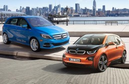EVs battle: B-Class Electric Drive vs. i3