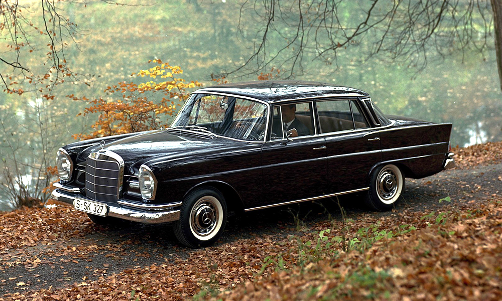 "Mercedes-Benz W 111 ""Fintail"": Following ""Das Zeitgeist"" – the Tune of the Times…"
