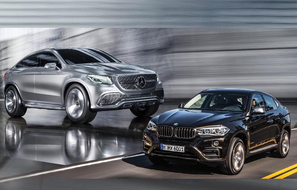 The BMW X6 2015 Will Have a Rival: the Mercedes-Benz MLC ...