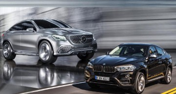 The BMW X6 2015 Will Have a Rival: the Mercedes-Benz MLC