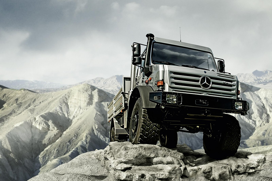 Unimog is Cross-country Vehicle of the Year 2015