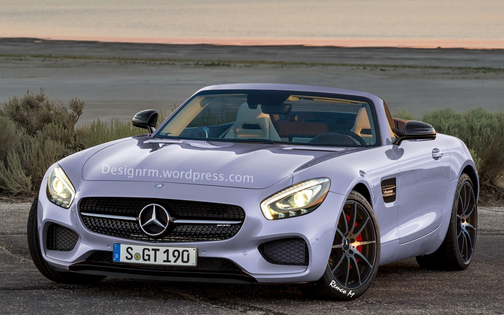 Let The Top Drop Mercedes Amg Gt Roadster On Its Way