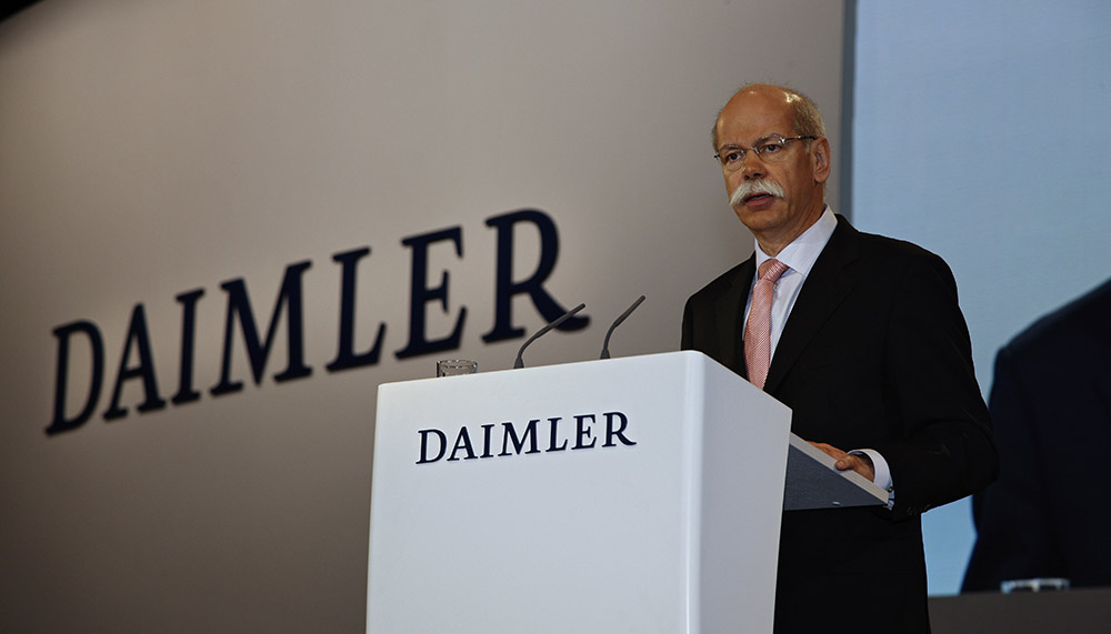 Daimler reports a 29% jump in Q3