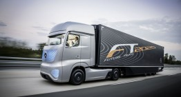 Mercedes-Benz Future 2025 Truck in the Present
