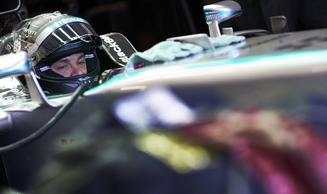 Nico Rosberg Is Literally Speechless After Sochi