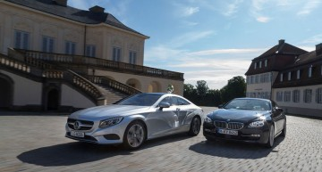 Mercedes-Benz S-Class Coupe and BMW 6 Series Head to Head