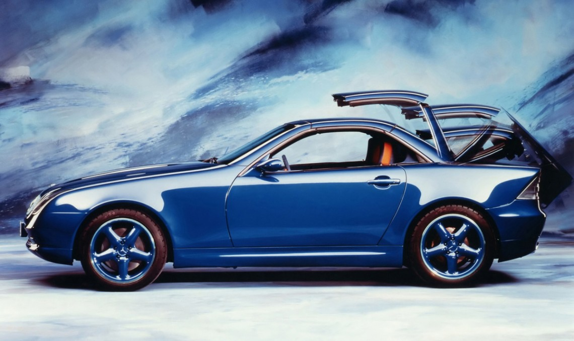 SLK Concept Cars – a new vision for the modern roadster