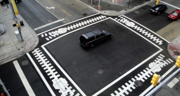 The crosswalk as you've never seen it before