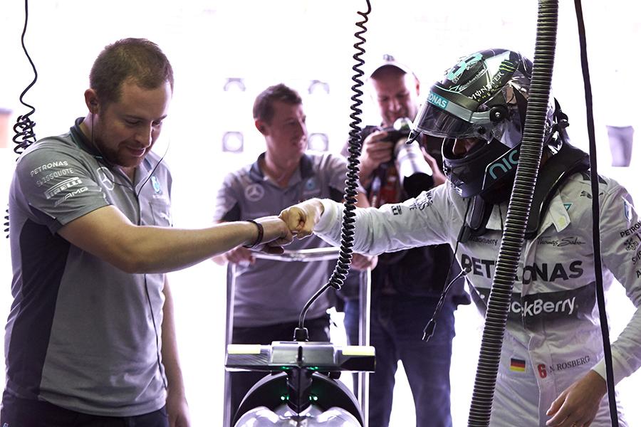 Nico Rosberg wins the Brazilian Grand Prix