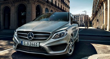 Mercedes-Benz B-Class: B Stands for Baby