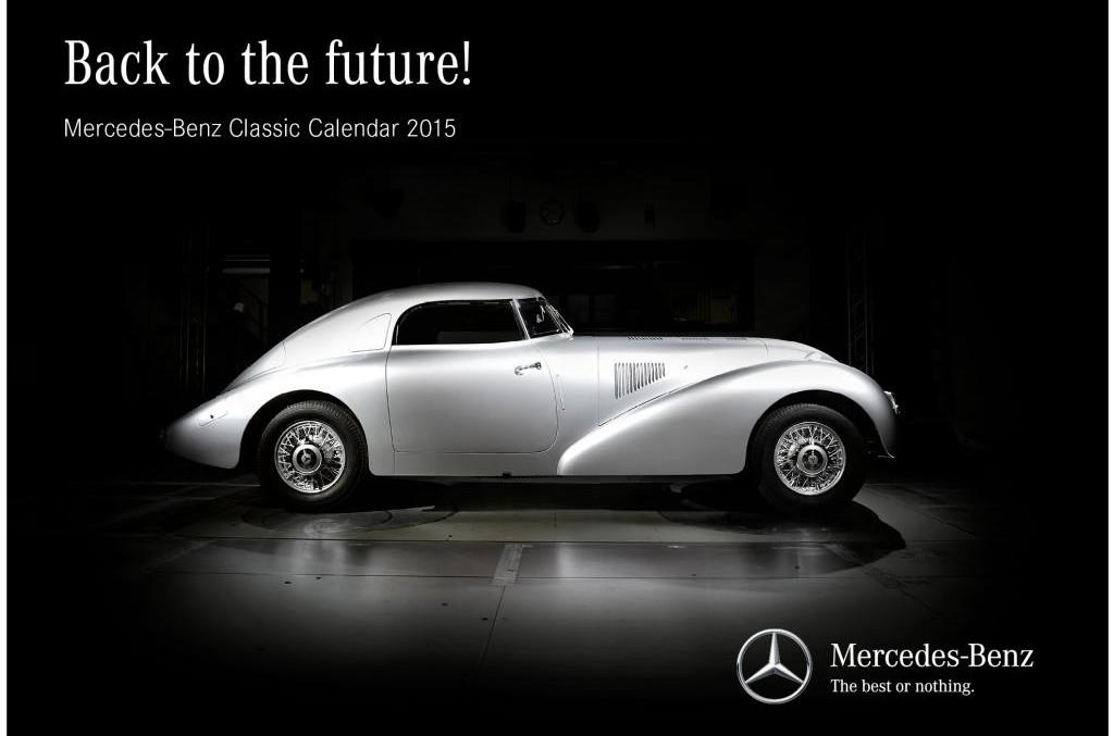 The Mercedes 2015 Calendar: A Mercedes for Each Month