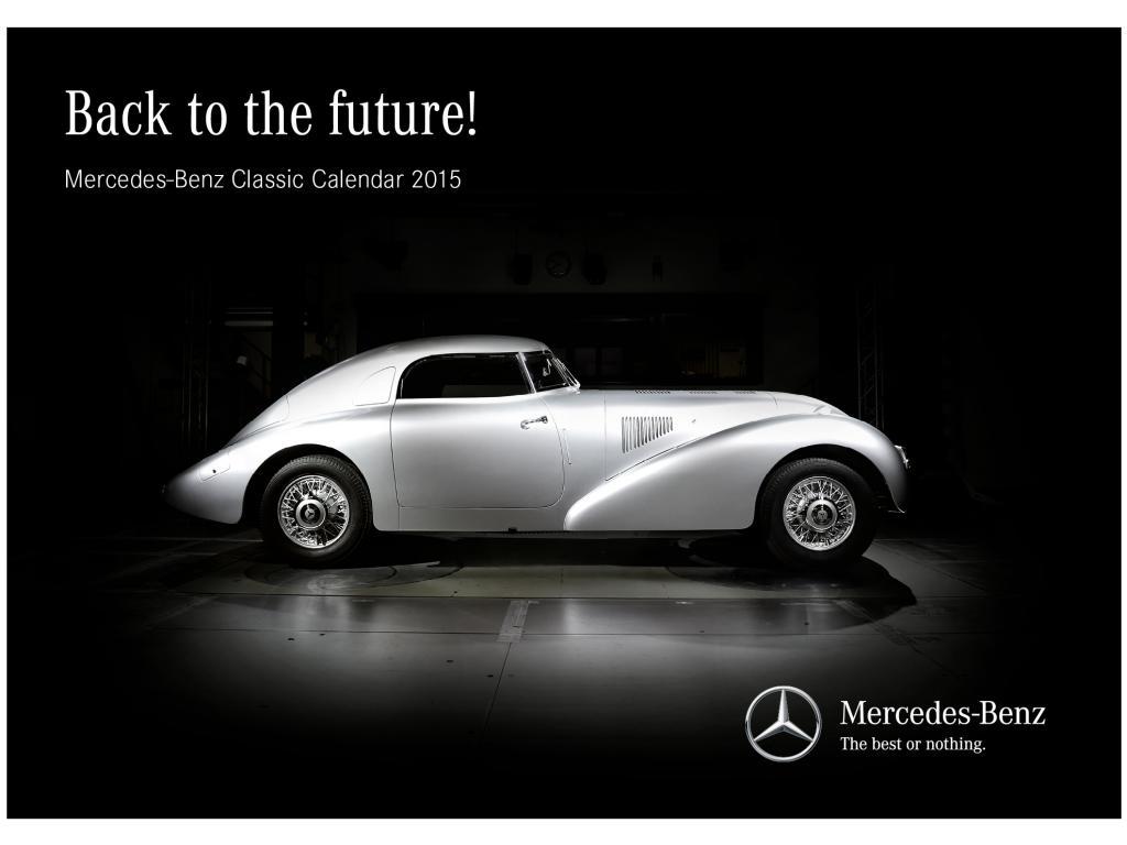 The Mercedes 2015 Calendar: A Mercedes for Each Month - MercedesBlog