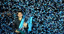 Djokovic Wins ATP World Tour Finals, sponsored by Mercedes-Benz
