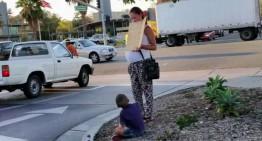 Beggar in a Benz