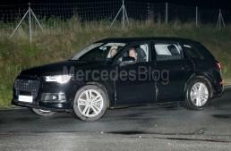 Audi Q7 at Detroit Auto Show few months before ML facelift