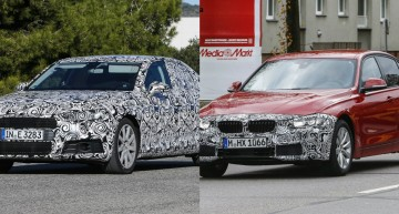 New Audi A4 and BMW 3 Series facelift: C-Class rivals