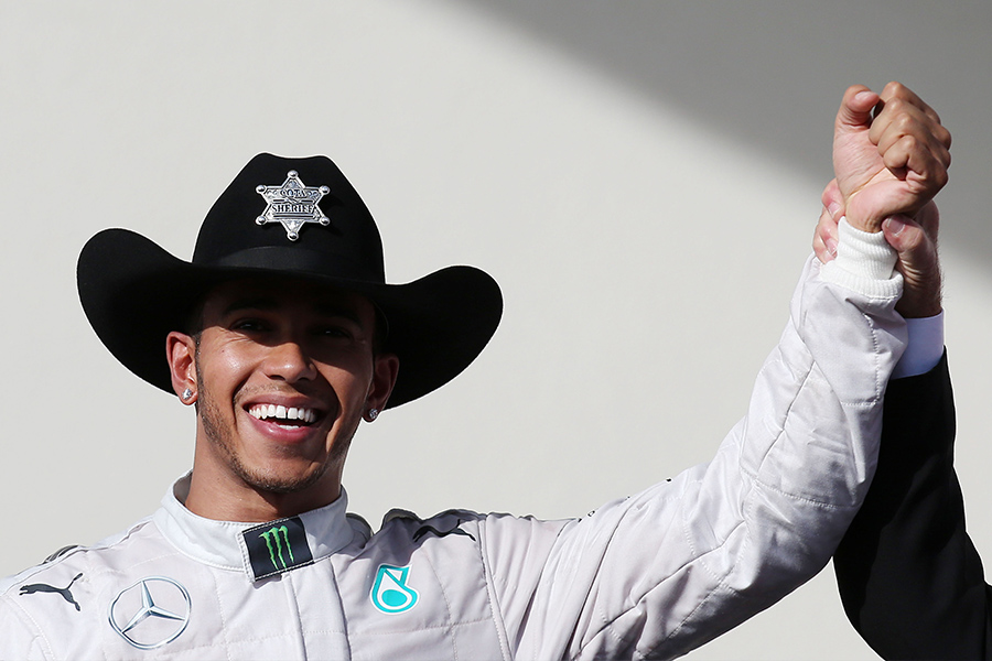 F1 US GP: Hamilton takes a step forward to the title