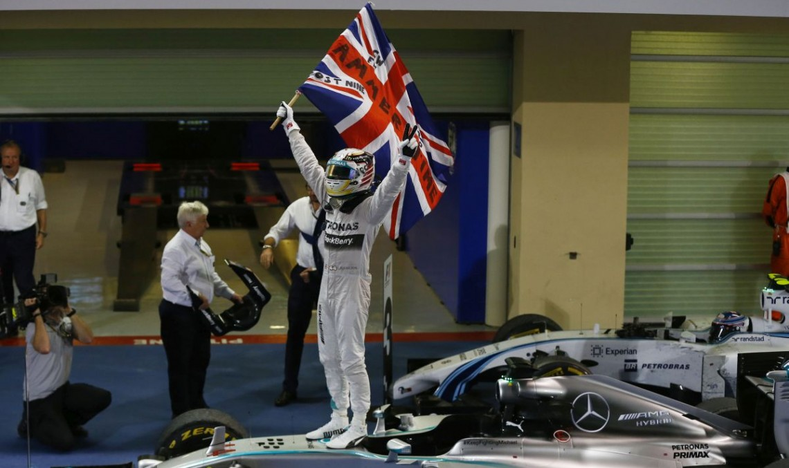 Lewis Hamilton is the New F1 World Champion