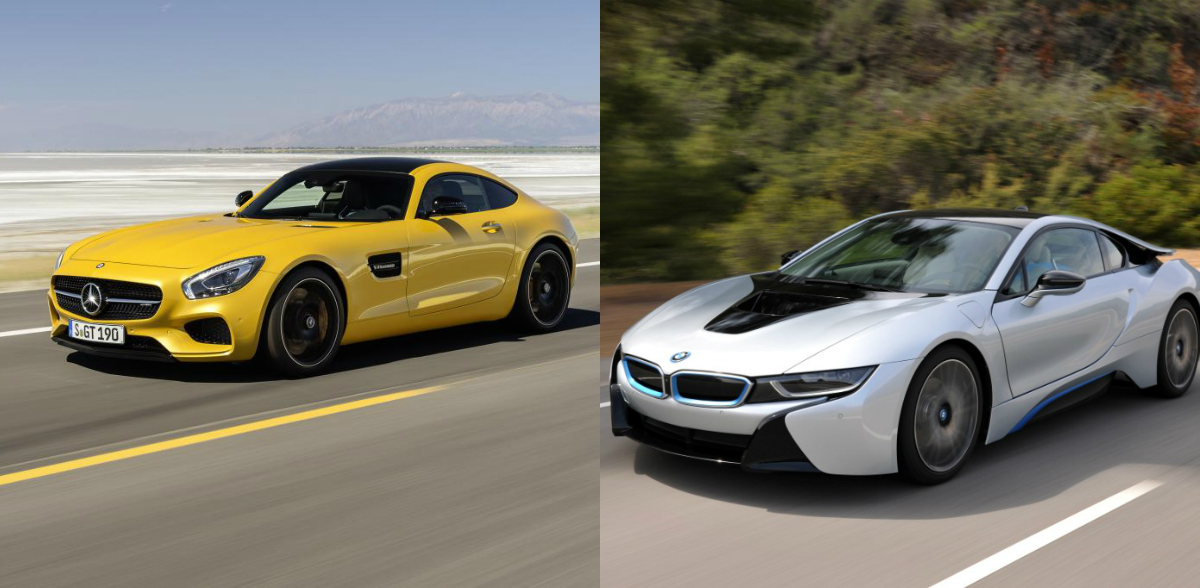 Mercedes Amg Gt Will Get A New Rival The Bmw I8s Mercedesblog