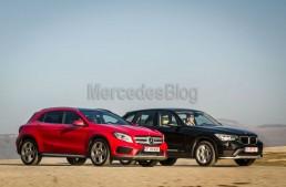 Mercedes GLA vs BMW X1 comparison