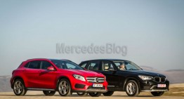 Mercedes GLA vs BMW X1 comparison