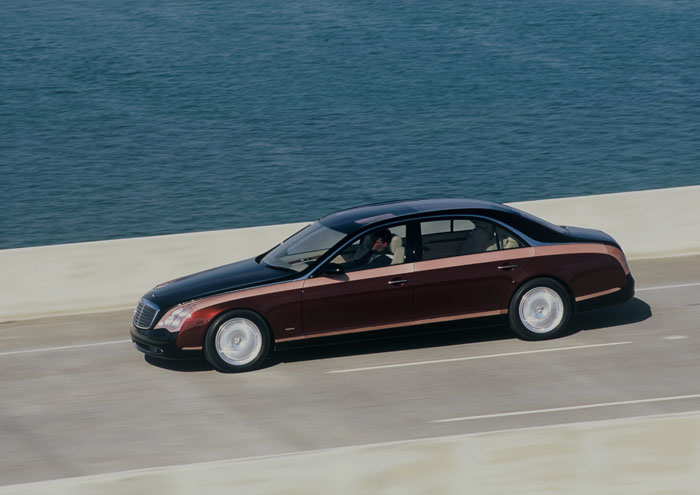 1997 Maybach concept: an expression of supreme luxury