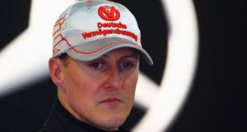 Schumacher, In a Wheelchair