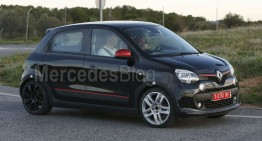 Twingo RS: First Glimpse Of Possible Future Sporty smart