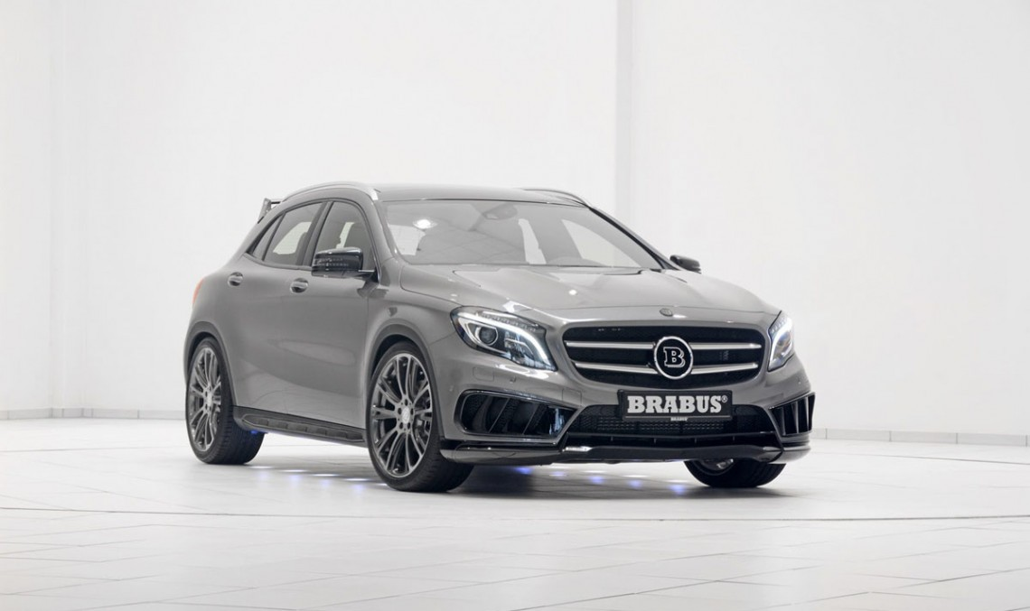 Brabus Mercedes GLA 45 AMG is here. And it's awesome