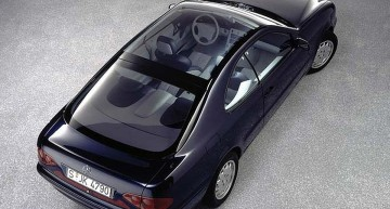 The 1993 coupe concept: a new face for the Mercedes-Benz brand