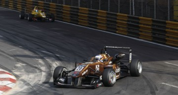 Felix Rosenqvist wins Macau Grand Prix with Mercedes power