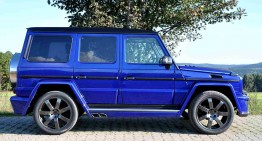 G-Class modified by German Special Customs