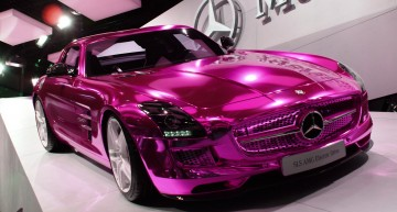 The Barbie Doll Drives A Pink Mercedes