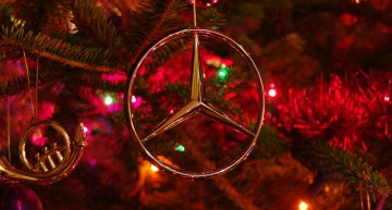 It's Beginning to Look A Lot Like… a Mercedes