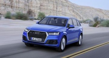Second Generation Audi Q7 – 325 kg Lighter